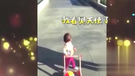 家庭幽默录像:有一种幸运叫幸福的偶遇,宝宝