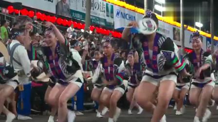 日本德岛的传统阿波舞,来看看怎么样的?