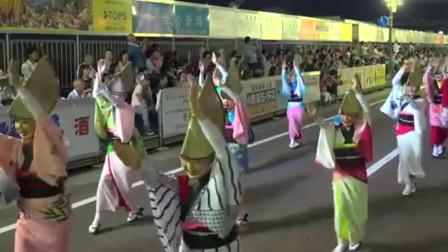 日本德岛县的传统阿波舞,来看看怎么样?
