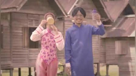 马来西亚Good Morning紫薯蓝莓广告6这创意绝了