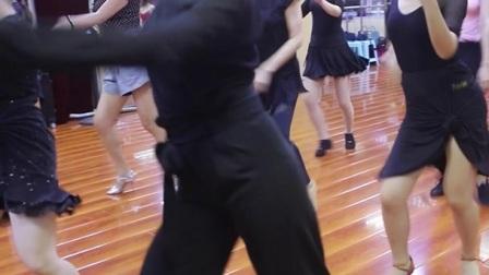 北京拉丁舞培训 美女学员一休,牛仔组合展示美