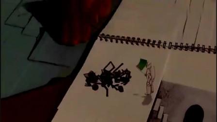 本田创意广告,用纸的艺术告诉你神车NSX怎么来