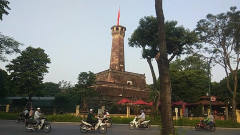 观光旅游到越南首都河内,在这里看到一个列宁