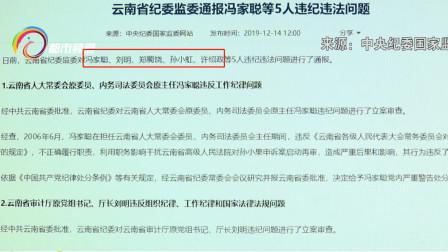 云南省纪委监委发布通告 孙小果案背后 5只大老虎 被查