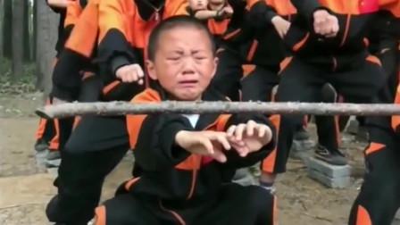 还想送孩子去少林寺吗,先看看有多苦