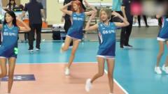 韩国啦啦队美女热舞!短发的姑娘我爱了,剩下
