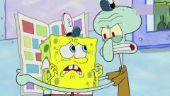 搞笑动画:小海绵被雪怪绑成粽子,还能做出美