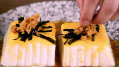 【美食】小伙在家用豆腐加芝士制作出特别好吃