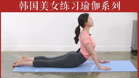 韩国美女练习瑜伽系列之三十五