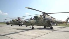军事:米35武装直升机的武器升级,将配备针式防