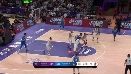 孙悦vs江苏男篮集锦 送对手无情大帽单节独得1