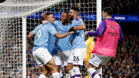 英超-马赫雷斯破门热苏斯建功,曼城3-1逆转莱斯特仍居第三
