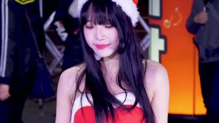 韩国神曲《A》多少少女在寒风中短裙热舞呀!