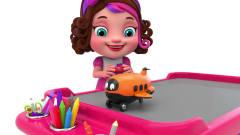 七彩遥控飞机玩具降落咯,宝宝爱看的卡通视频