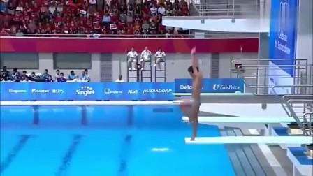 搞笑视频:跳水比赛失误,笑到肚子疼