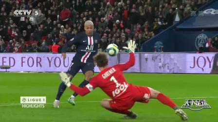 天下足球之一周法甲精选:巴黎圣日耳曼MIN三叉戟形成