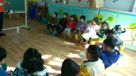 """幼儿园奥尔夫音乐课堂打击乐器""""认识小竹板"""""""