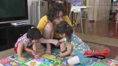 老外在中国:洋女婿照看俩熊孩子,忙的一团糟