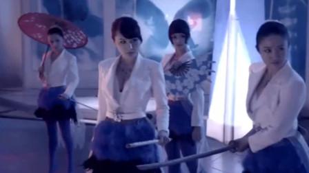 小伙大战日本女杀手,没想到三位美女各有绝技