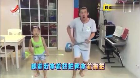 家庭幽默录像:今日拍客面对面,迎来最爱唱歌