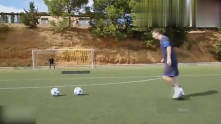梅西说了C罗的落叶球我也能踢