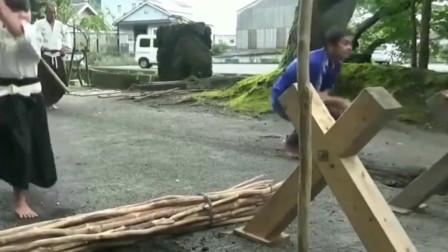 """日本五岁儿童,露天演绎""""居合斩""""气势碾压一"""