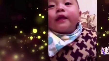 家庭幽默录像:谁说童言无忌,来看看大杀伤力