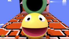 吃豆大作战:吃豆人VS超级玛丽,搞笑动画