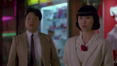 李修贤被美女逼得一直后退,周星驰女人从不手