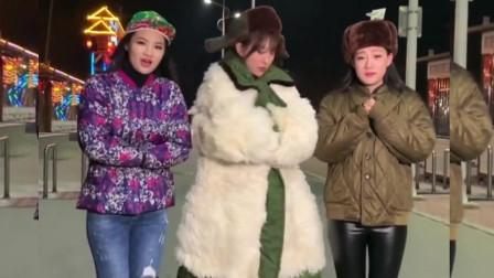 大石桥联盟翻唱《风的季节》,中间美女脸都冻