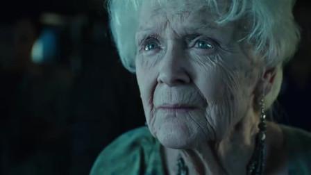 老年露丝眼睛依旧蔚蓝,可见年轻时是个大美女