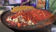 印度街头美食,这看完还能吃的下吗?