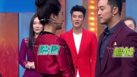 """综艺:胡可台上直接""""强吻""""老公沙溢,应采儿"""