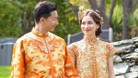 韩庚卢靖姗迎大婚,伴娘们出大招恶搞,还考验