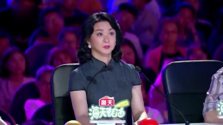 中国达人秀:小伙台上跳钢管舞,线条比女生还美腻,金星直呼专业