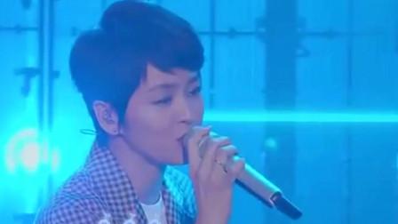 综艺:梁咏琪再唱《短发+胆小鬼》,真好听,真