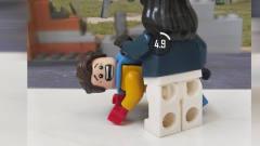 轩哥积木玩具搞笑定格动画