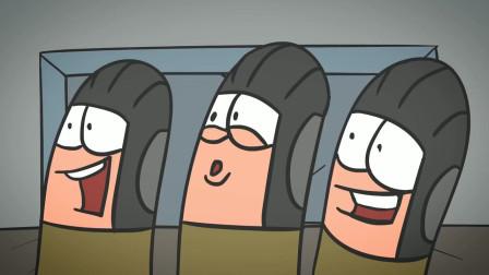 脑洞幽默动画,以为是美女夏令营,谁知走进了