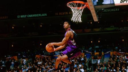 1999年卡特 麦迪即兴扣篮表演,有些扣篮真的不输