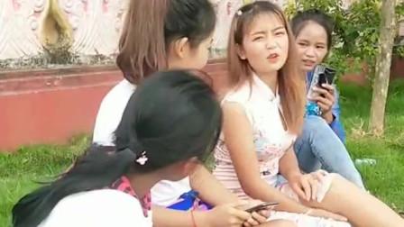 缅甸美女不想给小哥哥留联系方式