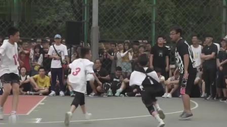 谁说个子小不能打篮球?1.68小个子大秀梦幻脚步