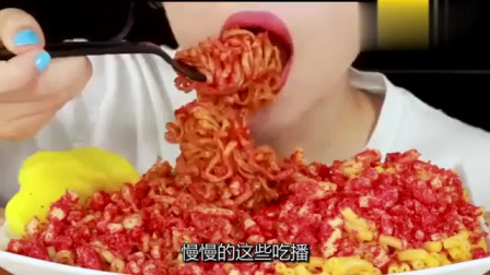"""""""哪吒""""在韩国火了,吃货美女化哪吒妆吃甘蔗"""