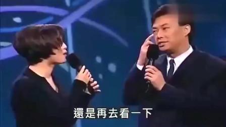 江蕙和费玉清被调侃,歌坛情侣果然很搭,小哥