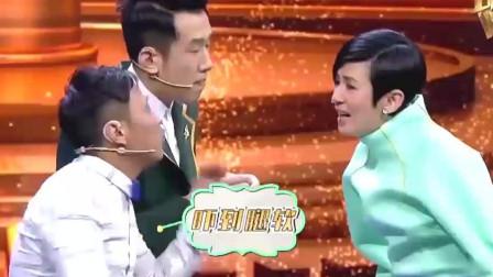 娱乐:宋小宝即兴表演,和拍档搭戏配合很好!