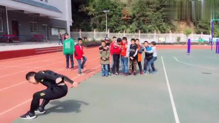 田径训练:立定跳远详细教学!体育生进来学习!