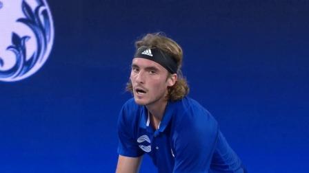 ATP CUP-西西帕斯VS 兹维列夫 稳健发挥终夺胜果