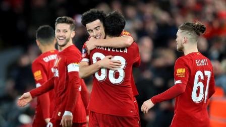 足总杯-米尔纳伤退琼斯世界波,利物浦1-0埃弗顿晋级
