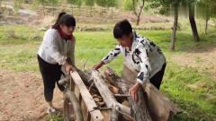 农村小伙用板车带相亲对象兜风,在农村这可是