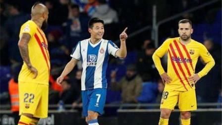 精华:中国足球的骄傲!武磊战巴萨献绝平 中国核武7闪耀加泰德比