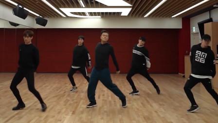 朴振荣《FEVER》舞蹈练习室镜像版,幽默诙谐